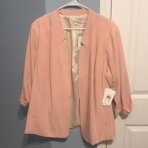 Pastel pink kensie blazer